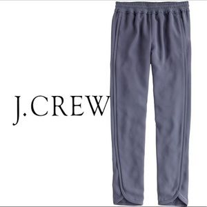 J. Crew Reese Drapey Pull-On Pant in Grey